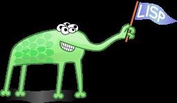 Lisp Alien Mascot